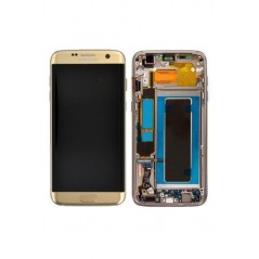 Ecran Origine Neuf Samsung Galaxy S7 edge - Or