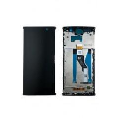 Écran LCD Sony Xperia XA2 Ultra Argent Avec Châssis Origine Neuf