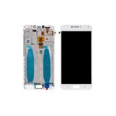 Écran LCD Asus Zenfone 4 Max (ZC554KL) Blanc Avec Châssis