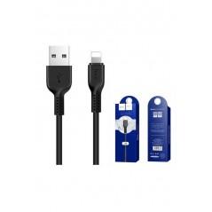 Câble Hoco X20 Lightning Noir 1m