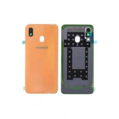 Back Cover Samsung Galaxy A40 Corail en Service Pack