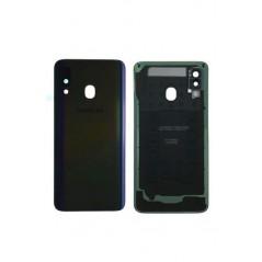Back Cover Samsung Galaxy A40 Noir en Service Pack