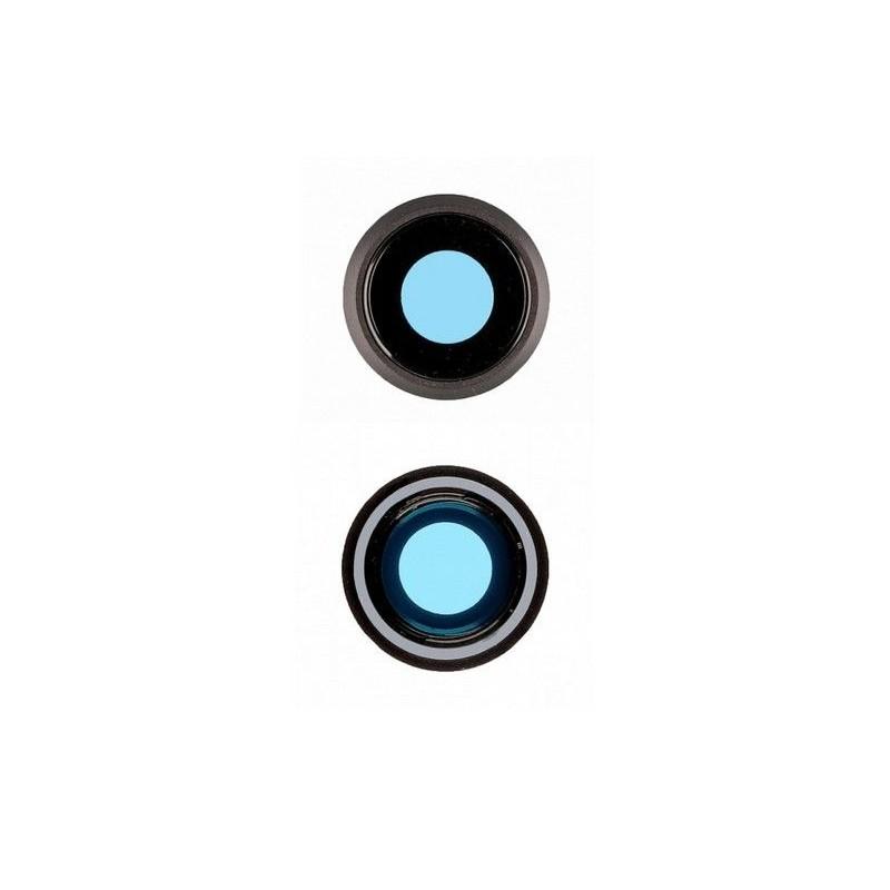 Vitre lentille camera Noir Iphone 7/8