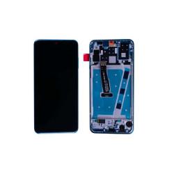 Ecran Huawei LCD P30 Lite Bleu avec châssis (reconditionné)