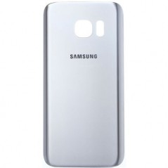 Back Cover Samsung S7 Argent original-service pack