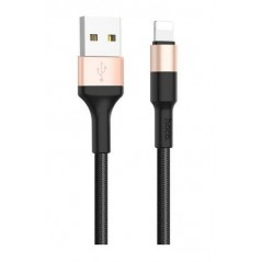 Cable Hoco X26 Lightning Noir Or 1m