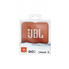 Enceinte Bluetooth JBL Go 2 Orange Etanche