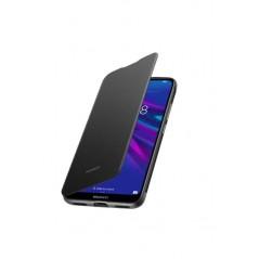 Coque flip cover Huawei Y6 2019 Noir