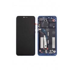 Ecran Xiaomi Mi 8 Lite Bleu Avec chassis