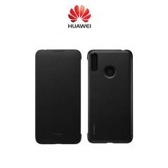 Étui Officiel Wallet Cover Huawei Y7 2019 Noir