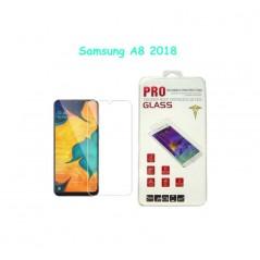 Verre trempé Classic Pro Glass Samsung A8 2018