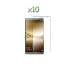 Lot 10 verres trempés Huawei Mate 8