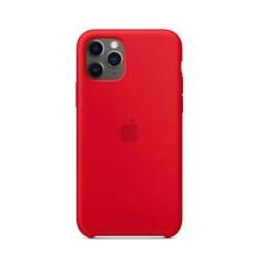 Coque silicone iphone 11 pro rouge soft feeling