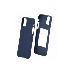 Coque silicone iphone 11 pro Bleu soft feeling
