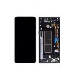 Écran Samsung Galaxy A10s Noir Service Pack