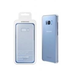 Etui ClearCover Samsung S8 + Bleu