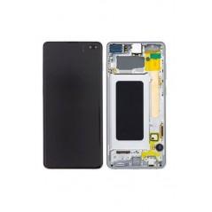 Écran Samsung Galaxy S10 Plus Blanc Céramic Service Pack