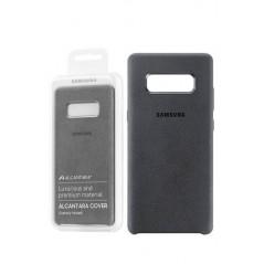 Coque Alcantara Cover pour Samsung Note 8 Gris