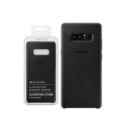 Coque Alcantara Cover Samsung Note 8 noir