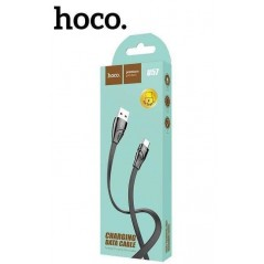 Câble Hoco U57 Twisting 1.2m Micro USB Noir