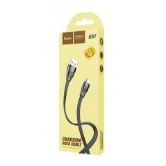 Câble Hoco U57 Twisting 1.2m Lightning Noir