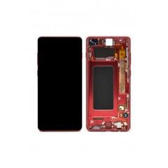 Ecran Samsung Galaxy S10 Plus (SM-G975) Cardinal Rouge Service Pack
