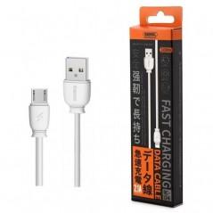 Câble Remax Fast Charge Micro USB 2.1A Rc-134m Blanc