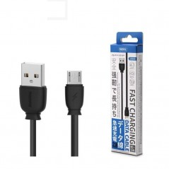 Câble Remax Fast Charge Micro USB 2.1A Rc-134m Noir