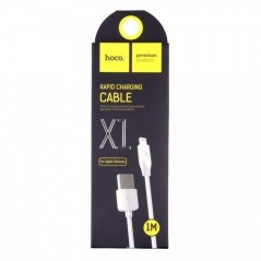 Câble HOCO X1 Lightning Blanc de 1 mètre