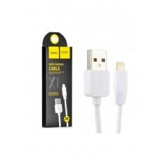 Câble HOCO X1 Charge Rapide Lightning Blanc de 2 mètres