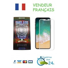 Verre trempé 3D HD Surface IPHONE 6-6S Blanc