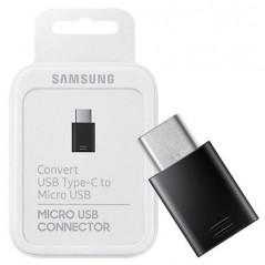 Adaptateur Samsung Micro USB vers USB Type C Noir