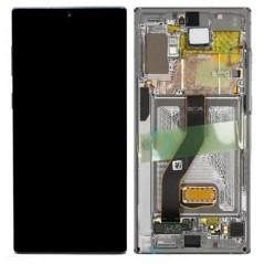 Écan Samsung Note 10 Aura Argent Service Pack