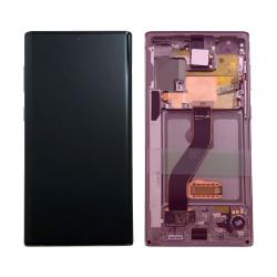 Écan Samsung Note 10 Aura Rose Service Pack