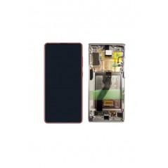Écran Samsung Note 10 Lite Rouge Service Pack