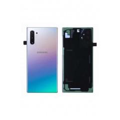 Vitre arrière Aura Service Pack Samsung Note 10 Argent