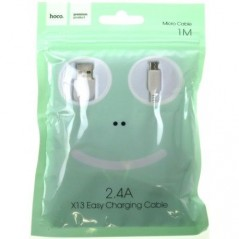 Câble Hoco X13 Micro USB - 1 mètre Blanc