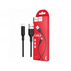 Câble Hoco X25 USB Type-C 1M Noir