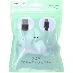 Câble Hoco X13 Micro USB Noir 1M