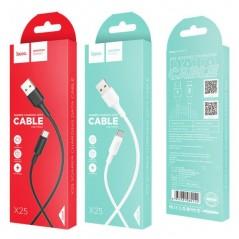 Câble Hoco USB Type-C X25 1M Blanc