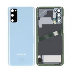 Back cover Bleu Samsung S20 Service Pack
