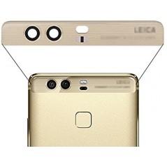 Lentille de Caméra Arrière pour Huawei P9+ Or