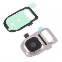 Lentille de caméra pour Samsung S7 / S7 Edge Or