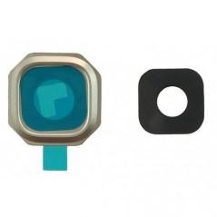 Lentille de caméra compatible pour Samsung A3/A5/A7 2017 Or