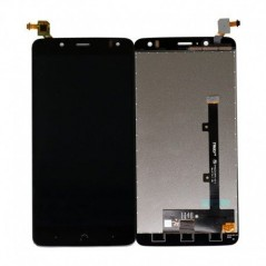 Écran LCD + Vitre tactile BQ Aquaris V Plus Noir