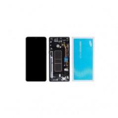 Écran Samsung Galaxy A71 Noir en Service Pack