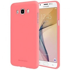Coque Rose mate Soft feeling Samsung J7 2016