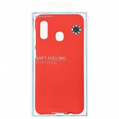 Coque Rouge mate Soft feeling Samsung J7 2017