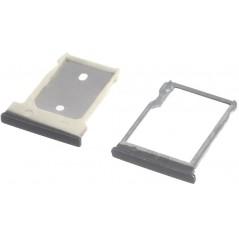 Tiroir SIM + Micro SD Noir pour HTC One M9