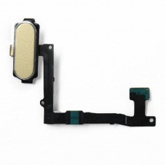 Nappe Bouton Home Samsung S6 Edge+ Or